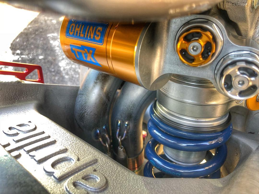 Tenneco gets ready to buy Öhlins