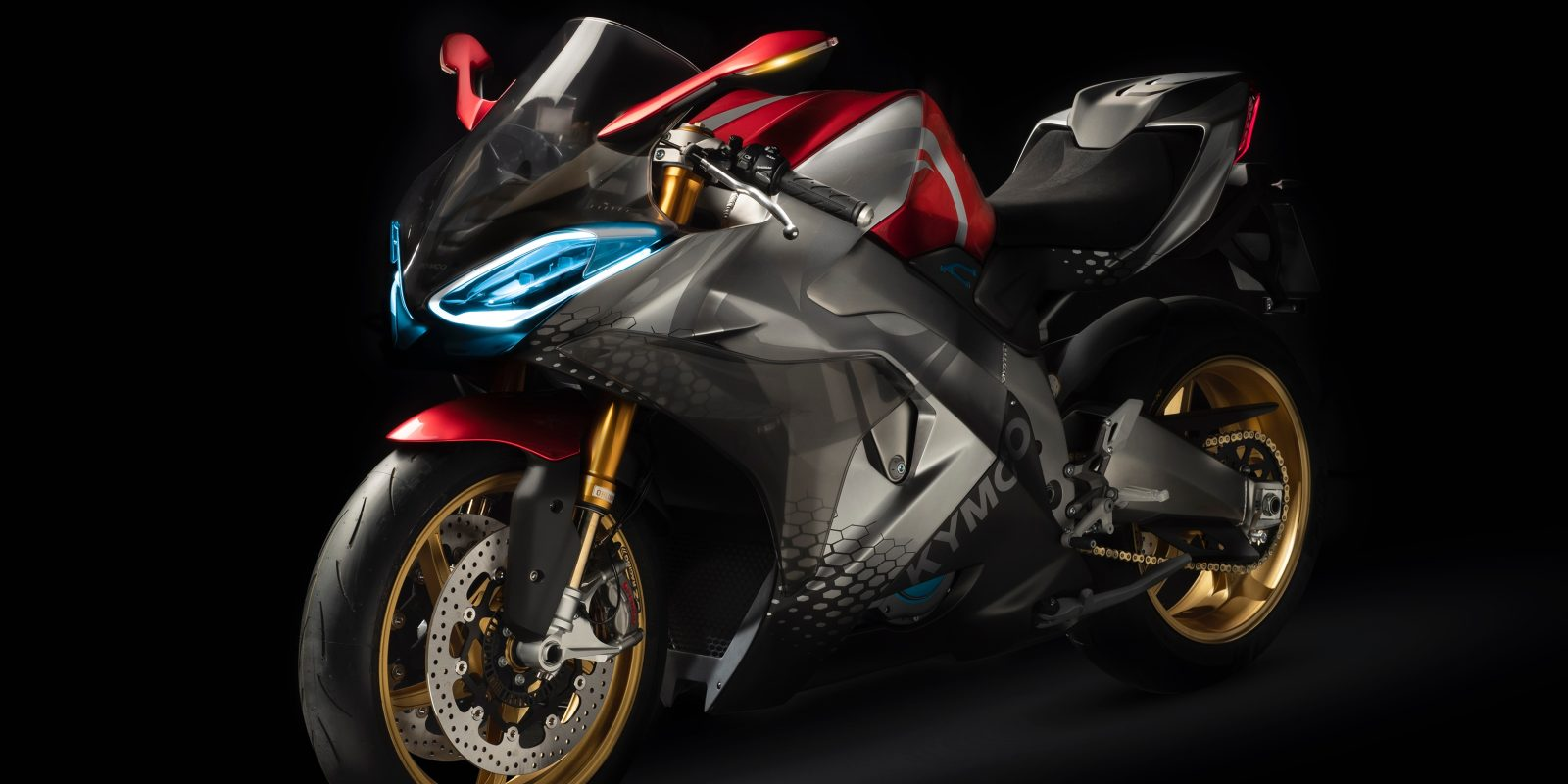 Kymco SuperNEX concept is Kymco's vision for a futuristic superbike