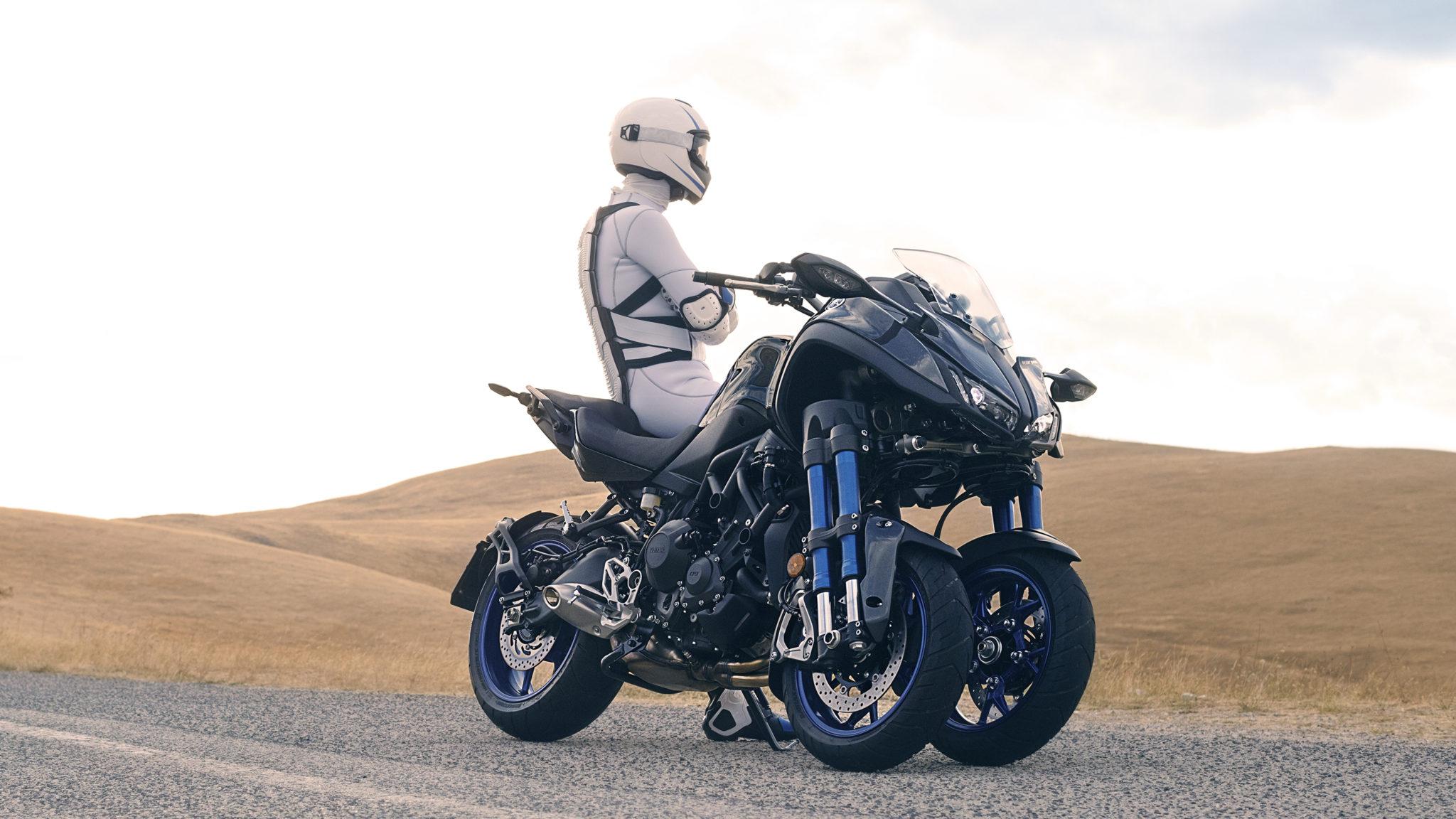 Yamaha Niken to get a GT variant?