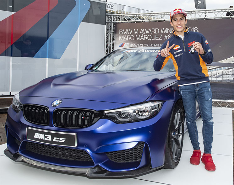 MotoGP – Marc Marquez wins his sixth BMW M Award