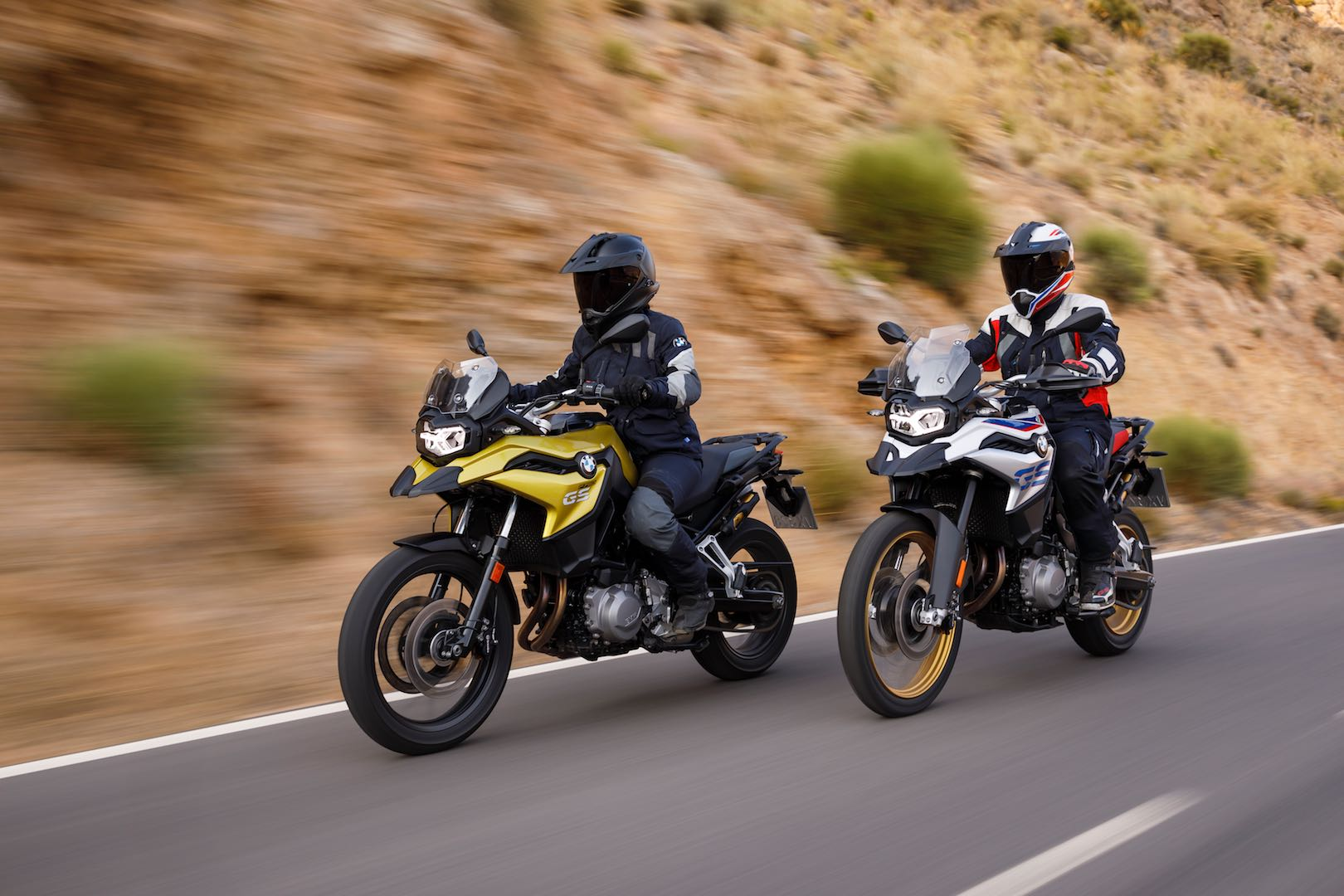 Check out the BMW Motorrad's new F 750 GS and F 850 GS