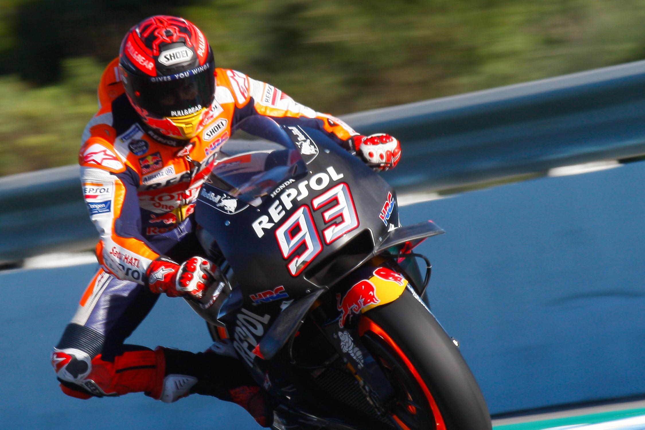 MotoGP – Marquez happy with Jerez test results