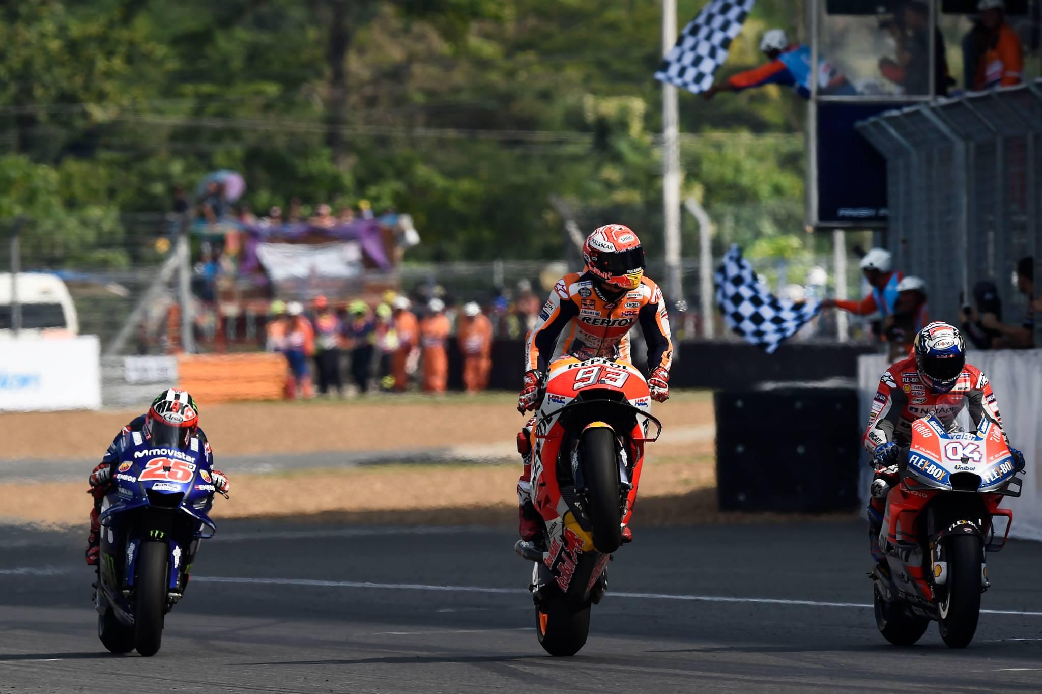 MotoGP – Thailand wins the 2018 Best GP award