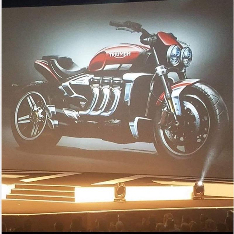 New Triumph Rocket III breaks covers with over 180hp!