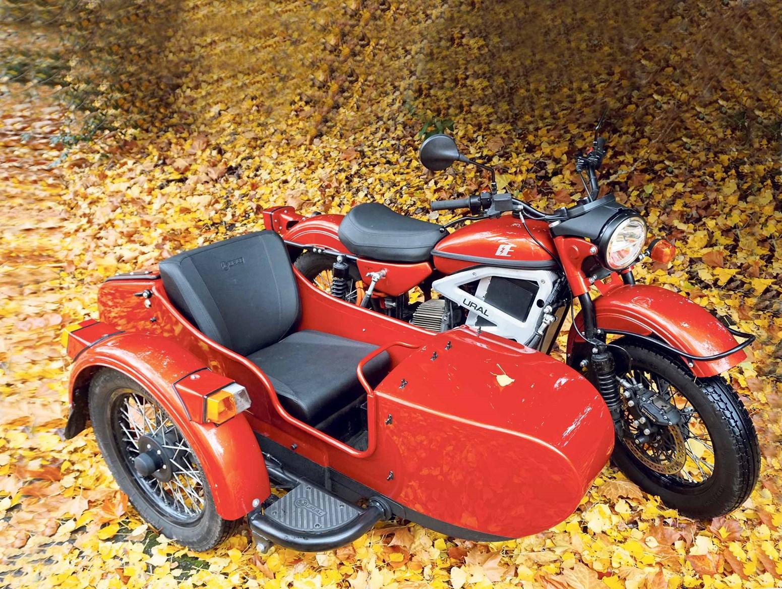 Ural reveals electric sidecar prototype