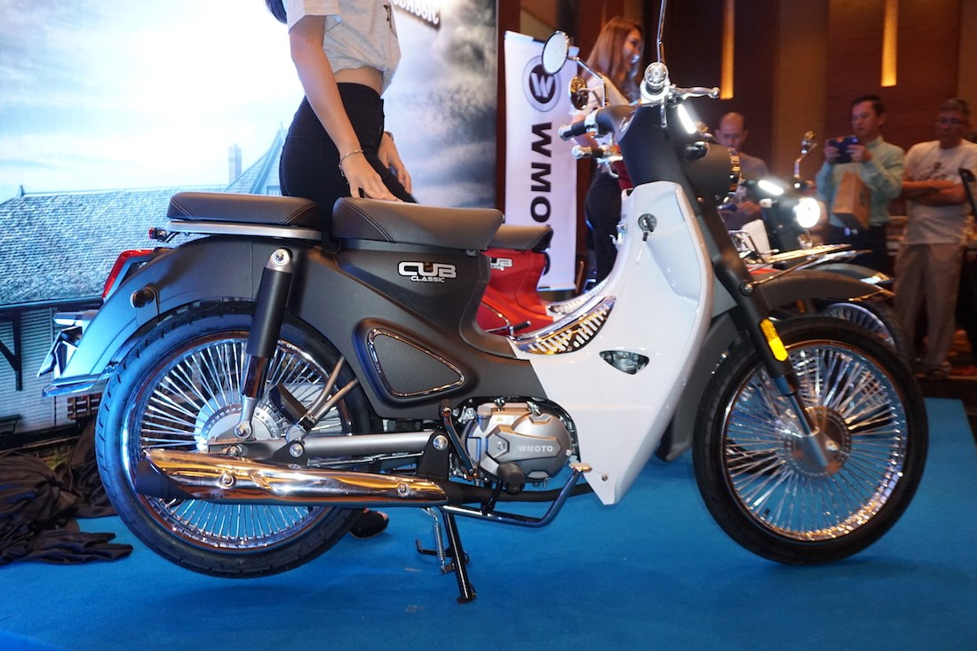 WMoto launches in Malaysia with brand-new Cub Classic 110