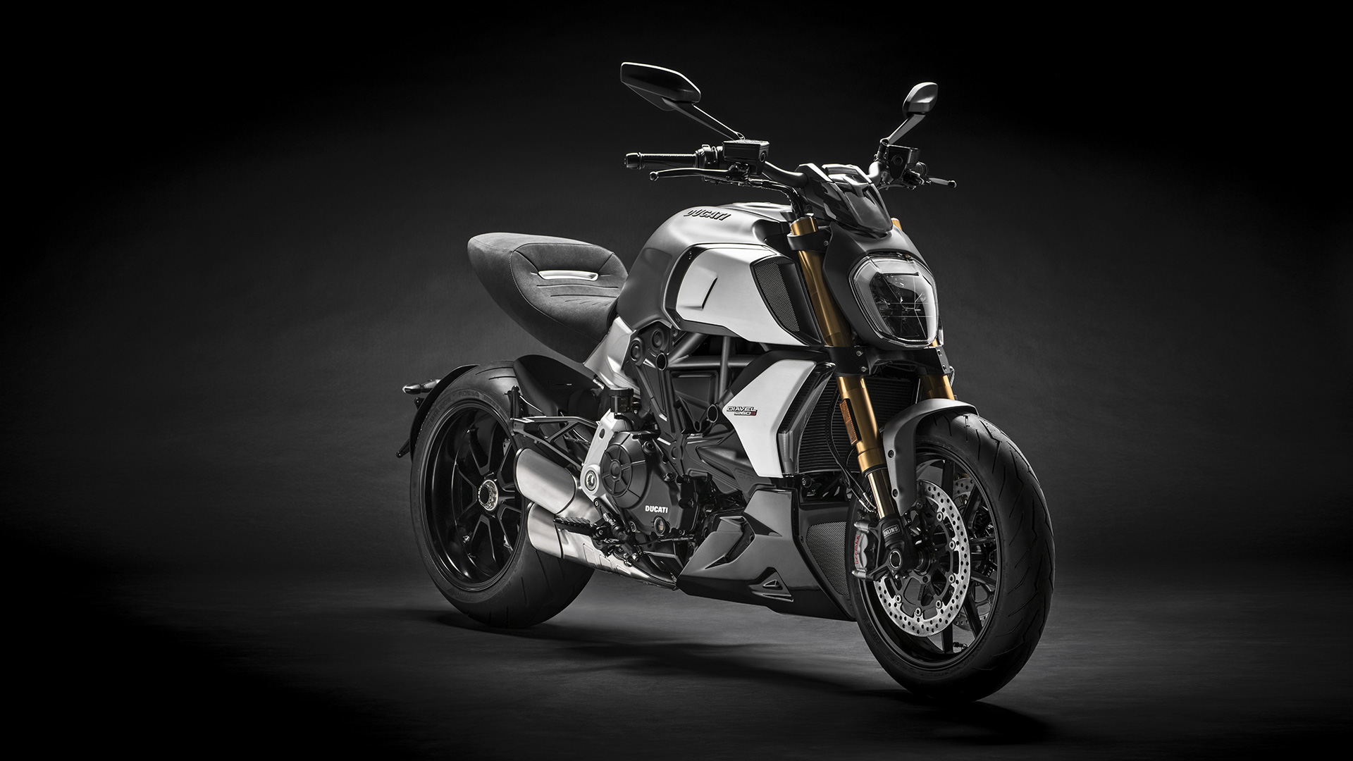 The new Diavel 1260 starts to roll out the Ducati factory