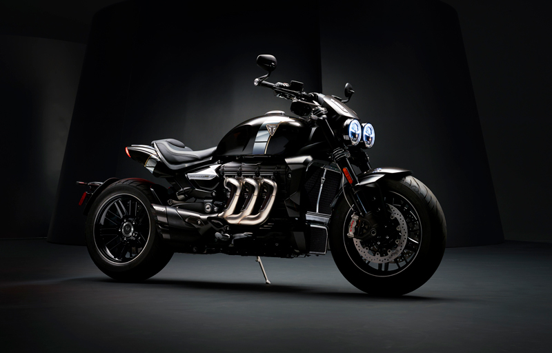 The new Triumph Rocket TFC concept breaks cover!