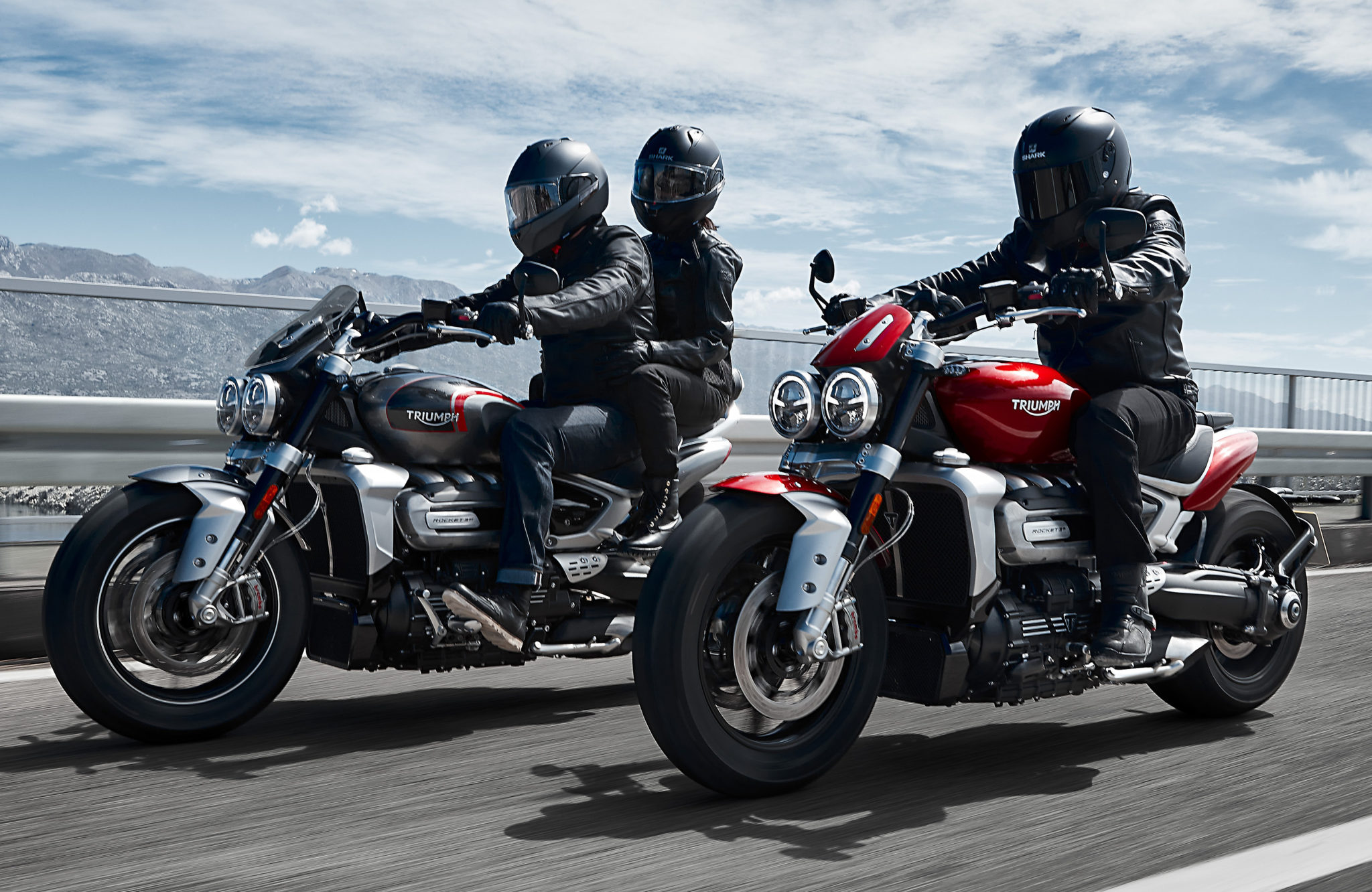 Triumph lets the Rocket III hit the road!