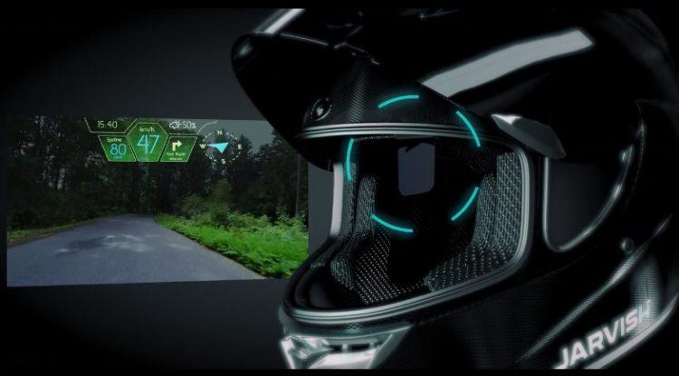 Shoei IT-HT: The smart helmet with HUD