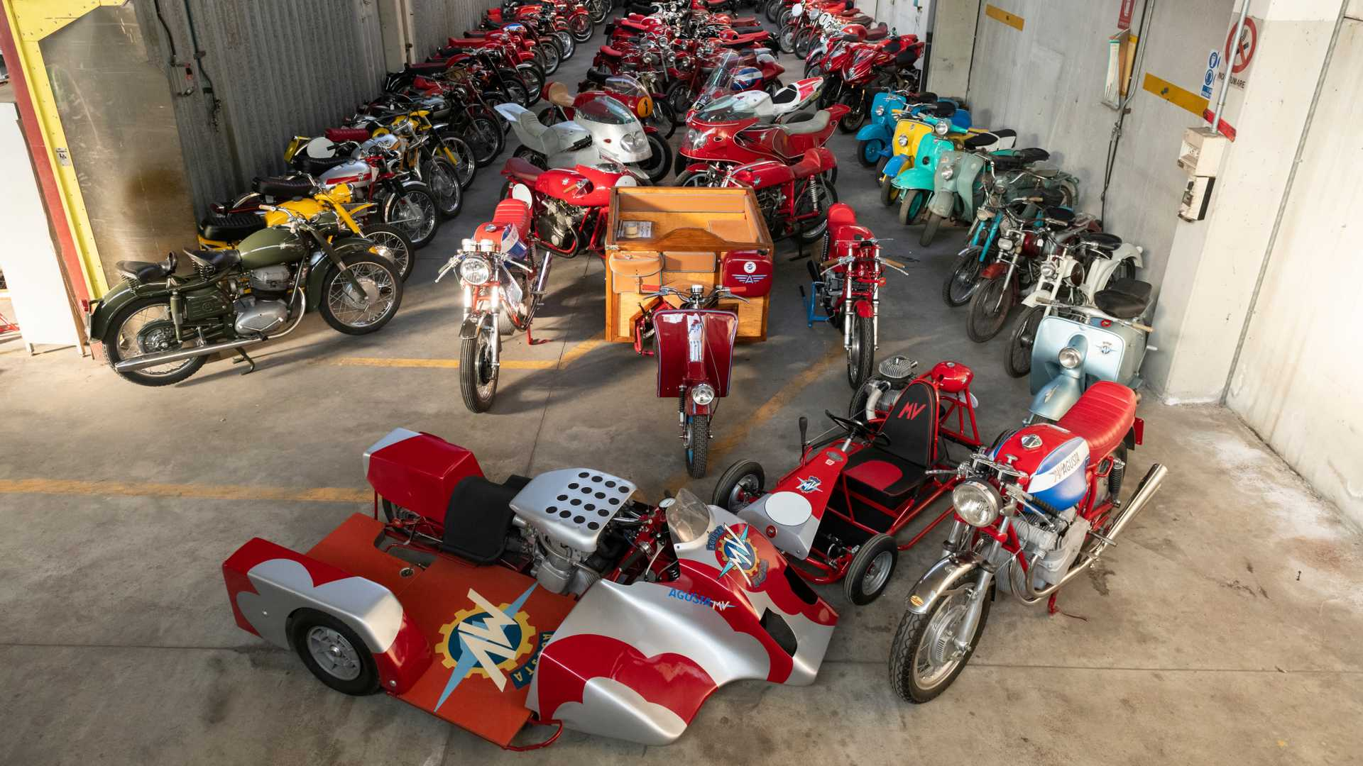 The biggest MV Agusta collection is up for sale!