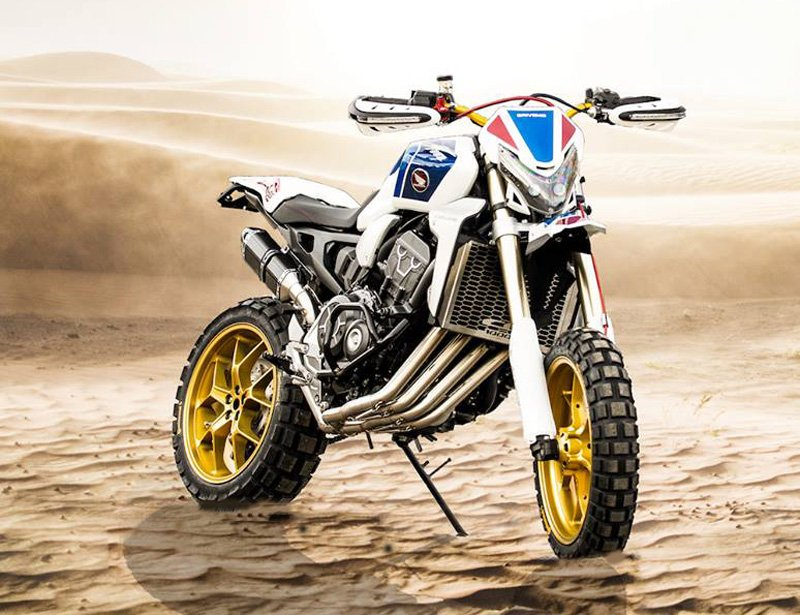 Honda Africa Four – Imagination knows no limits!