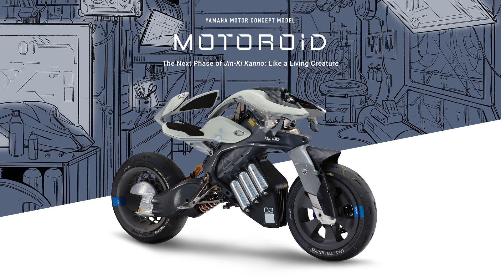 Yamaha MOTOROiD wins Global IF Design Award