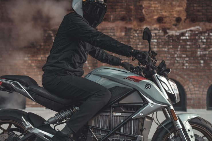 The all-new SR/F electric streetfighter from Zero Motorcycles comes with 200 miles of range