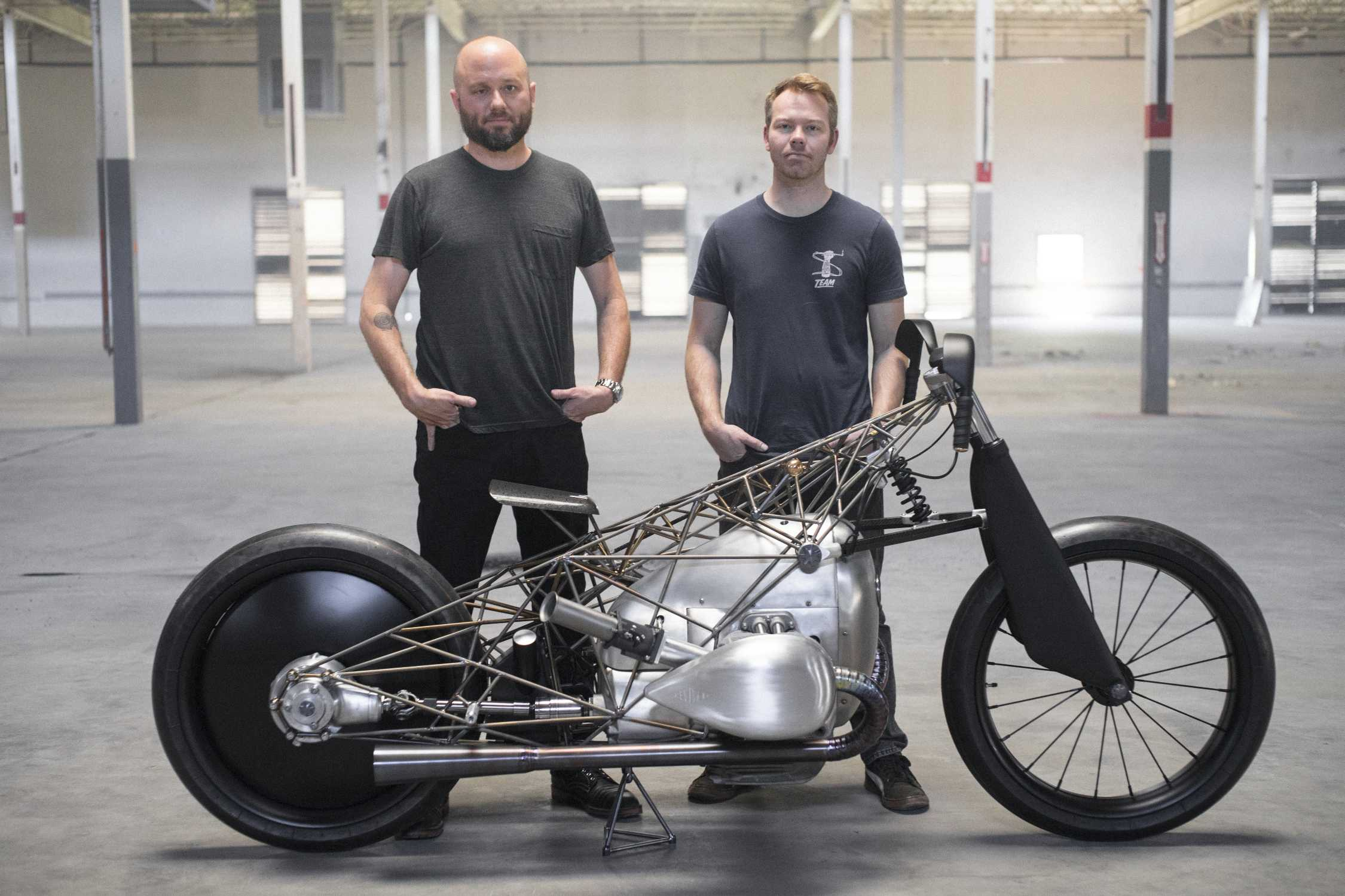 The Revival Birdcage is built around the BMW Motorrad boxer engine
