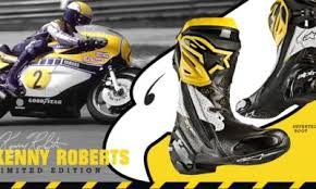 Alpinestars reveals the Supertech R Kenny Roberts Sr. limited edition boots