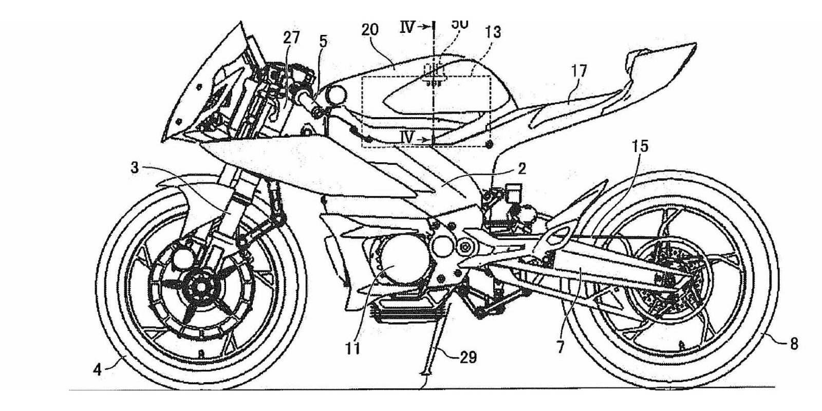Yamaha patents reveal electric R1 and MT-07