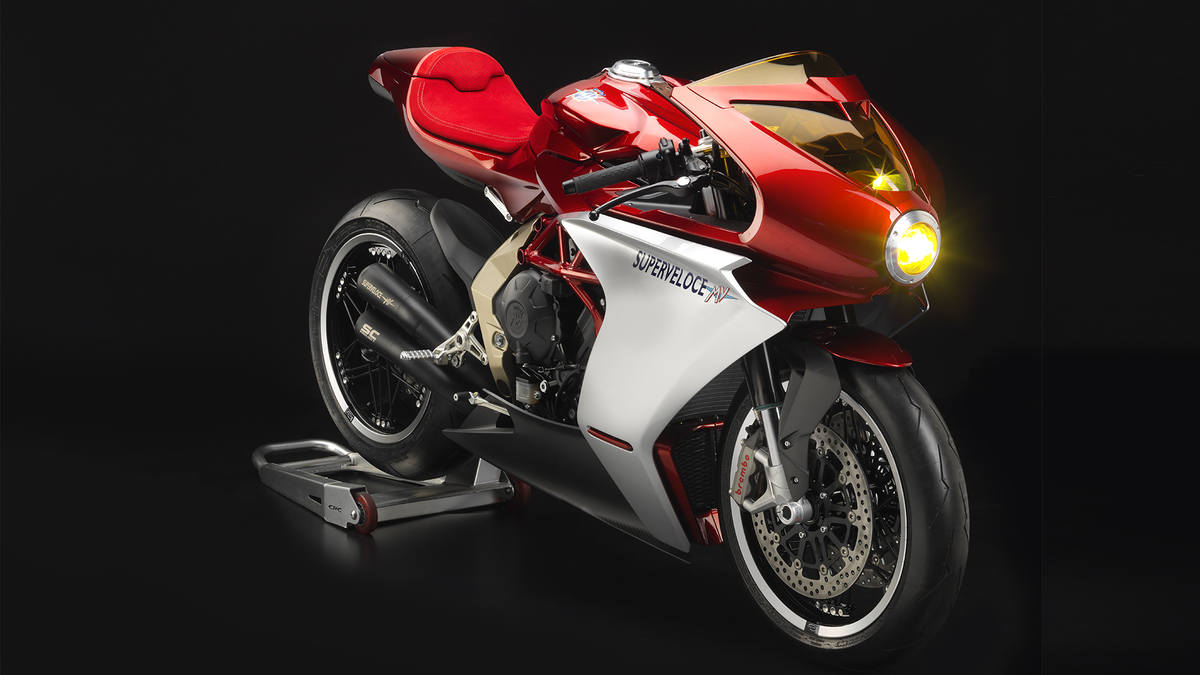 It's official: MV Agusta Superveloce 800 arrives in 2020