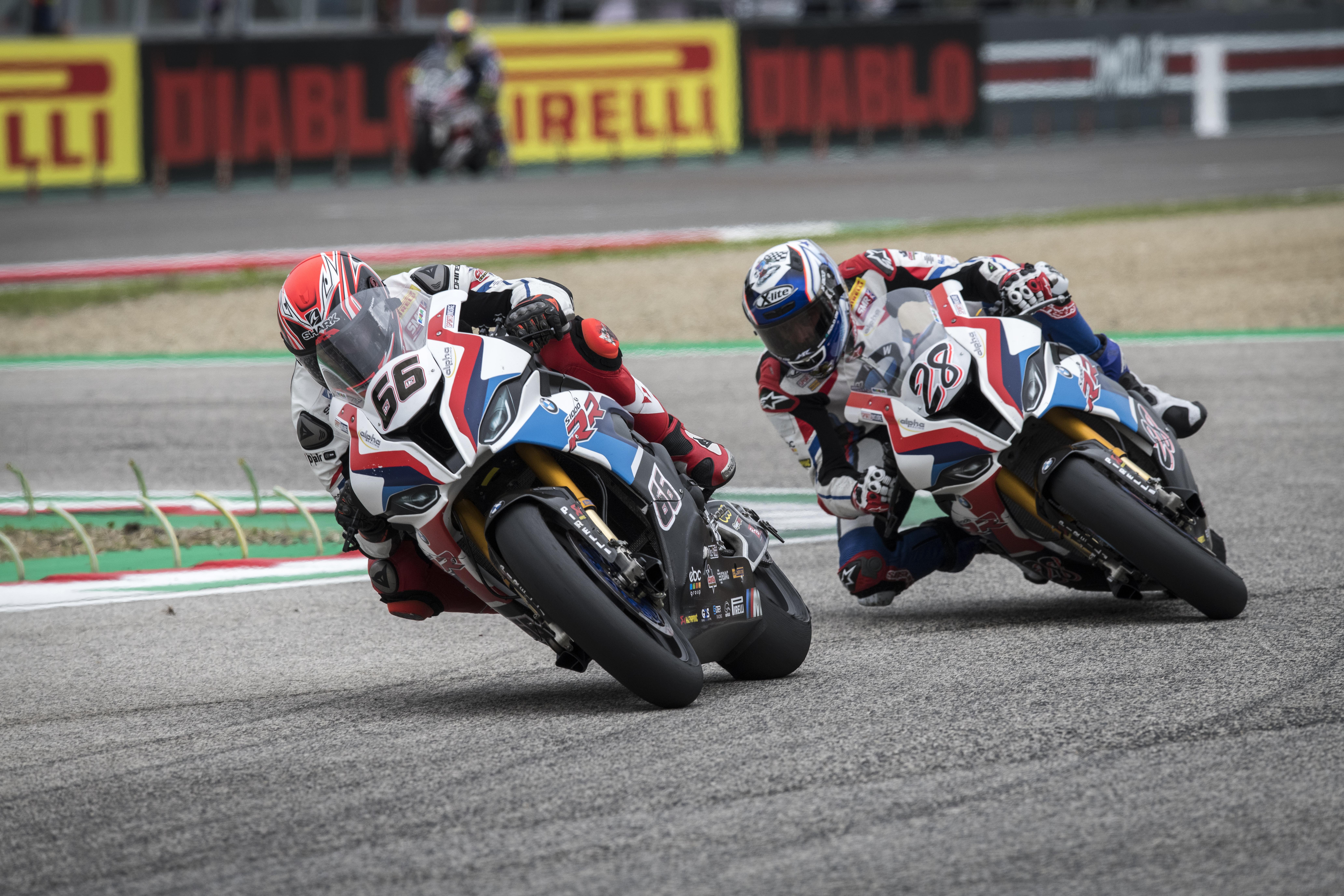 SBK- Race cancelled due to rain; BMW Motorrad impressive run cut short