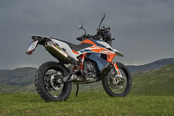 KTM reveals limited edition 790 Adventure Rally