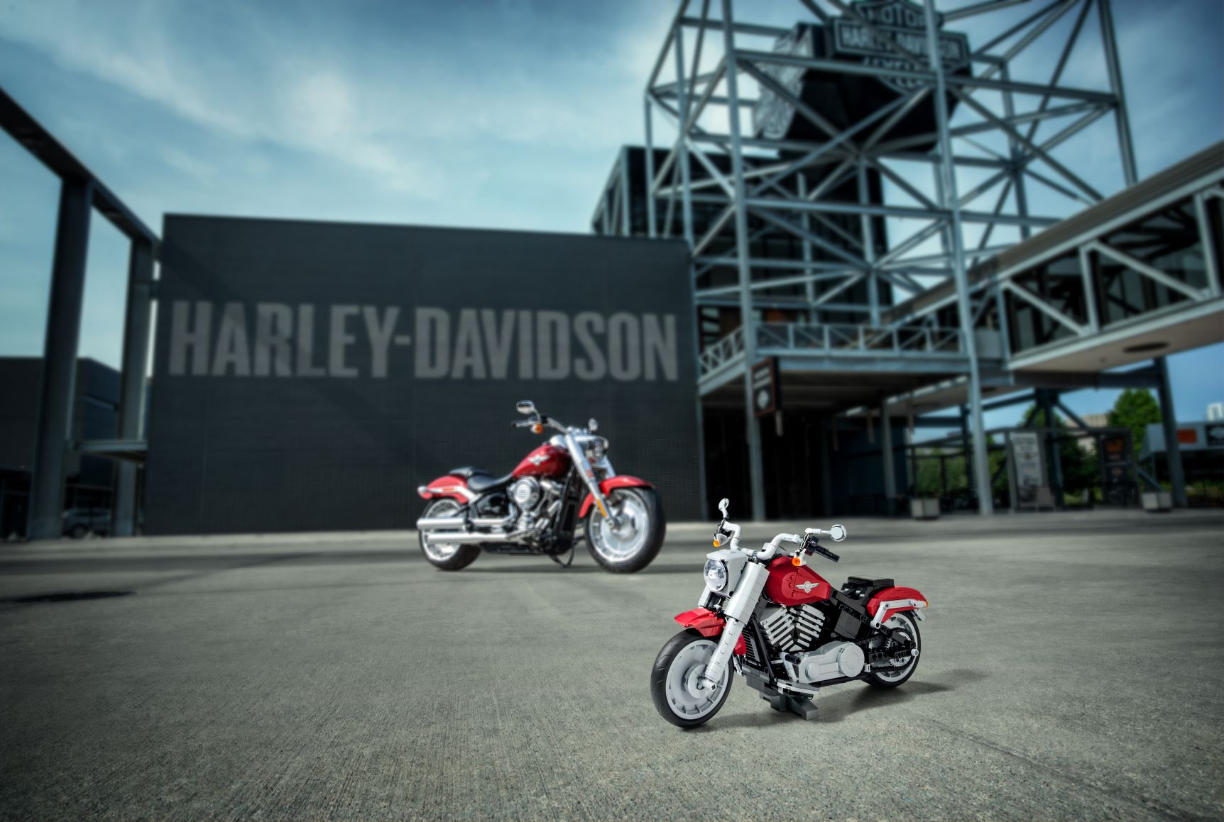 Lego and Harley-Davidson join forces for a special Fat Boy
