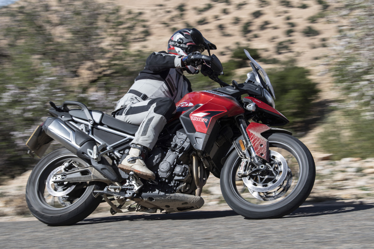 New Triumph Tiger 900 caught testing