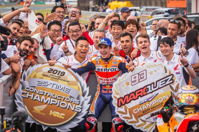 Honda wins its 25th Premier Class Constructors Championship title
