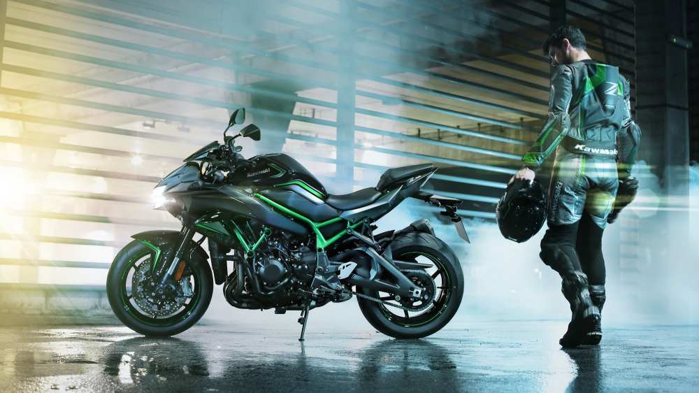 Kawasaki gets ready to launch a new supercharged Z