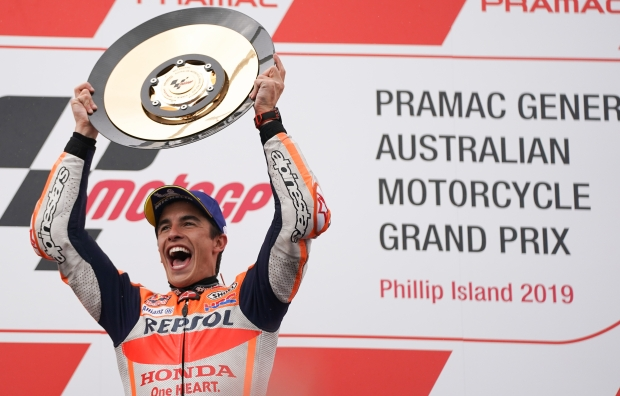 Repsol Honda Team's Marc Marquez makes history in Phillip Island