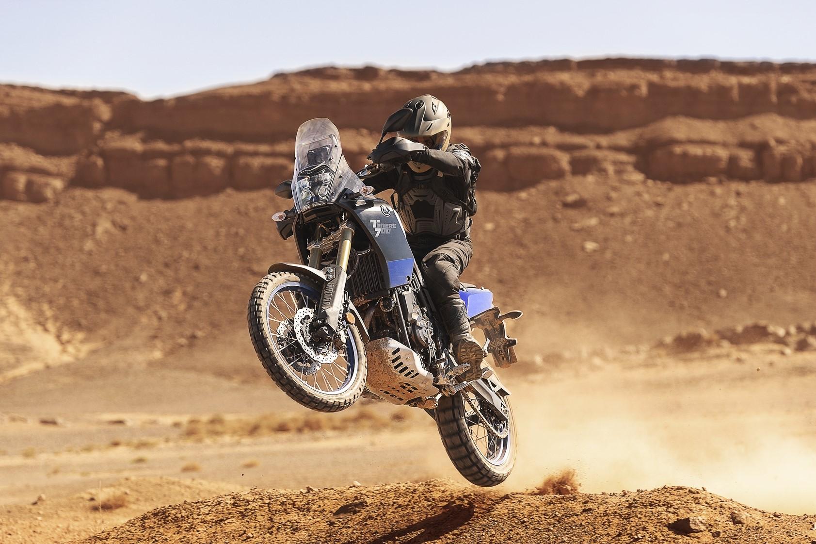 """Yamaha thinks about a Ténéré 700 """"Adventure"""""""