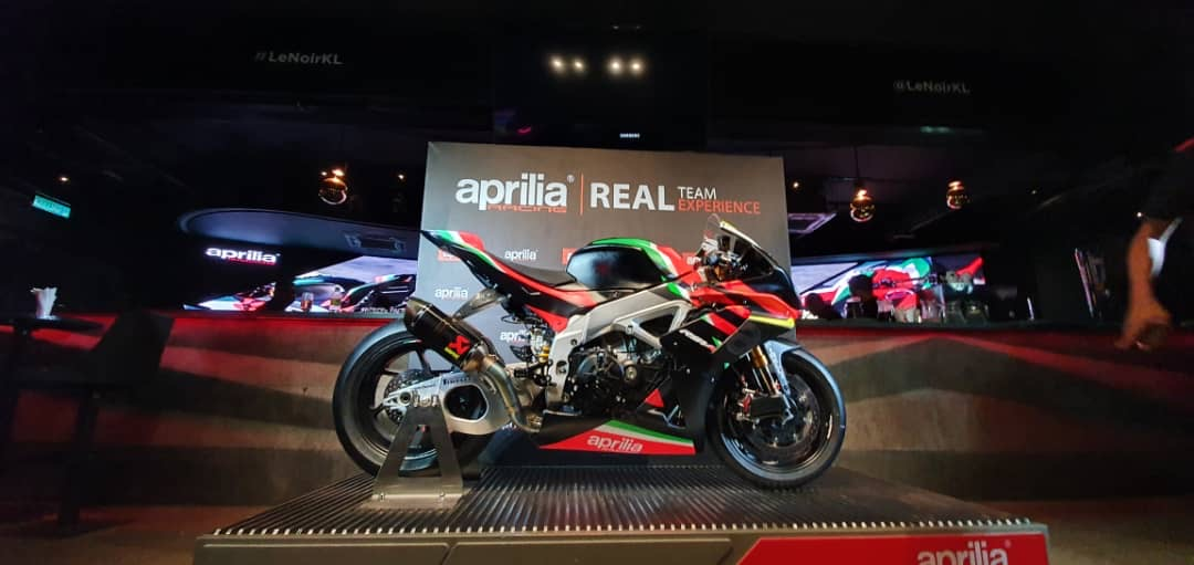 Asia's Premier of the Limited Edition Aprilia RSV4 X