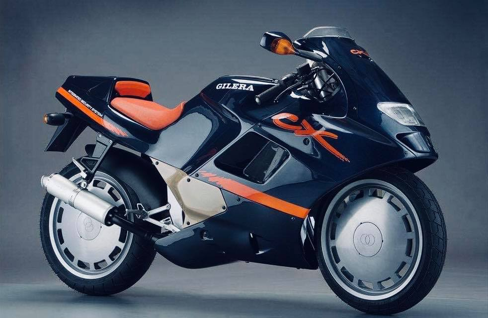 Gilera CX125 : Unusual Futuristic Bike From The 90s