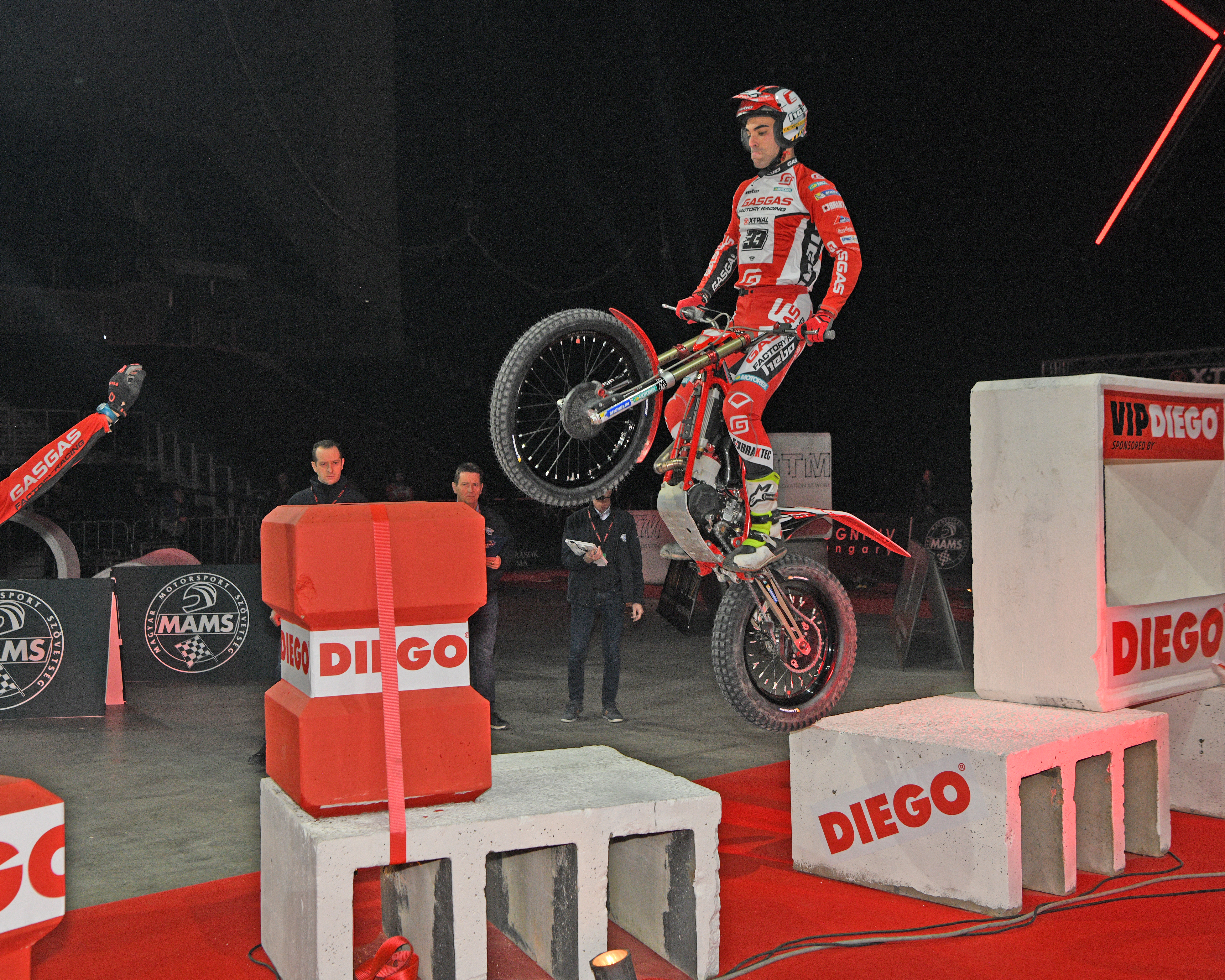 Jorge Casales secures fifth place overall in X-Trial Budapest