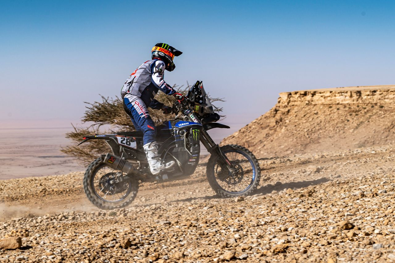 Monster Energy Yamaha Rally Team completes Stage 9 of Dakar Rally