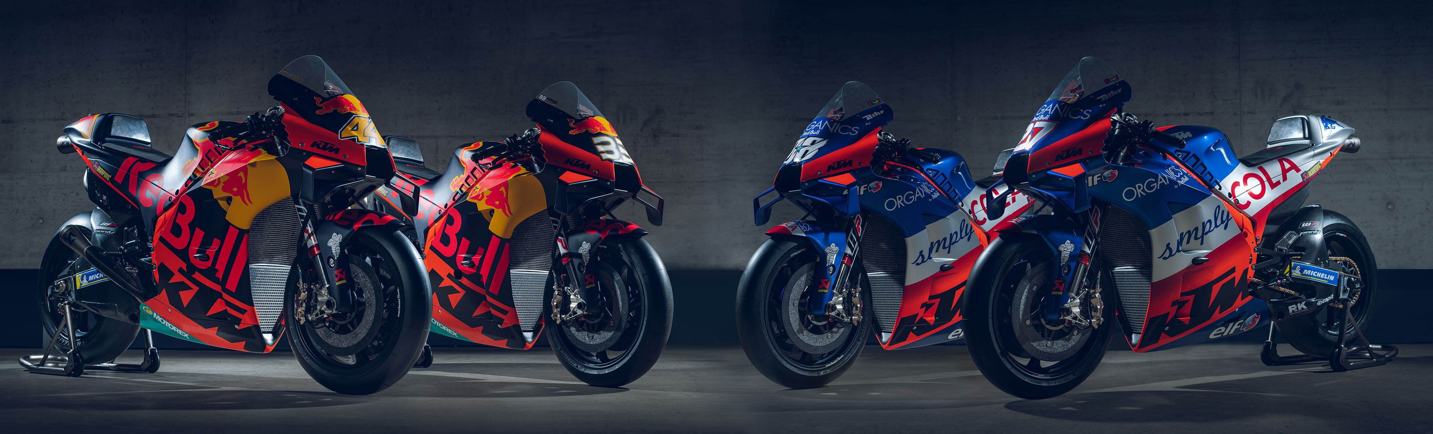Red Bull KTM presents new race colours for its fourth MotoGP season