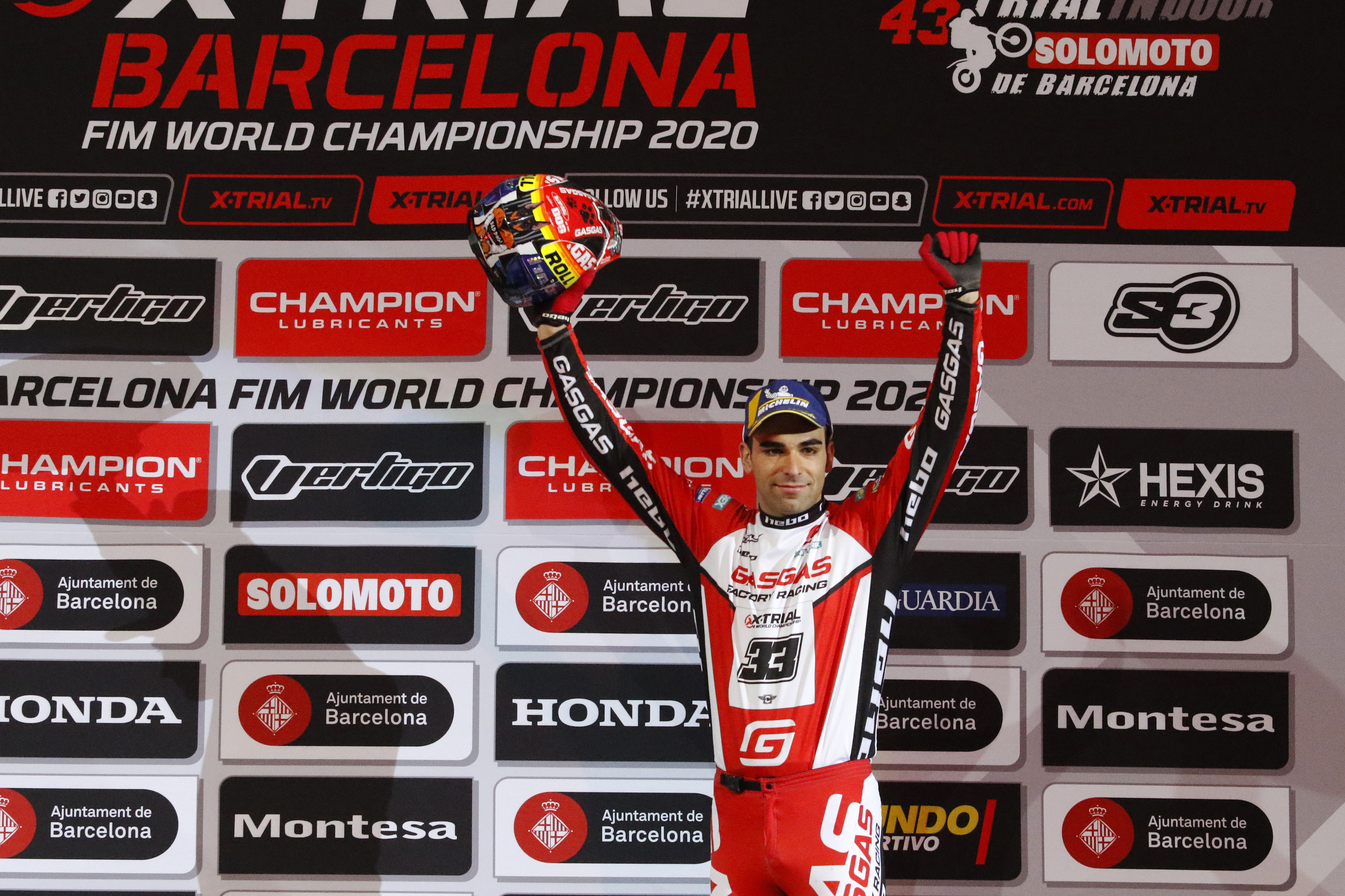 Jorge Casales secures podium win in X-Trial Barcelona