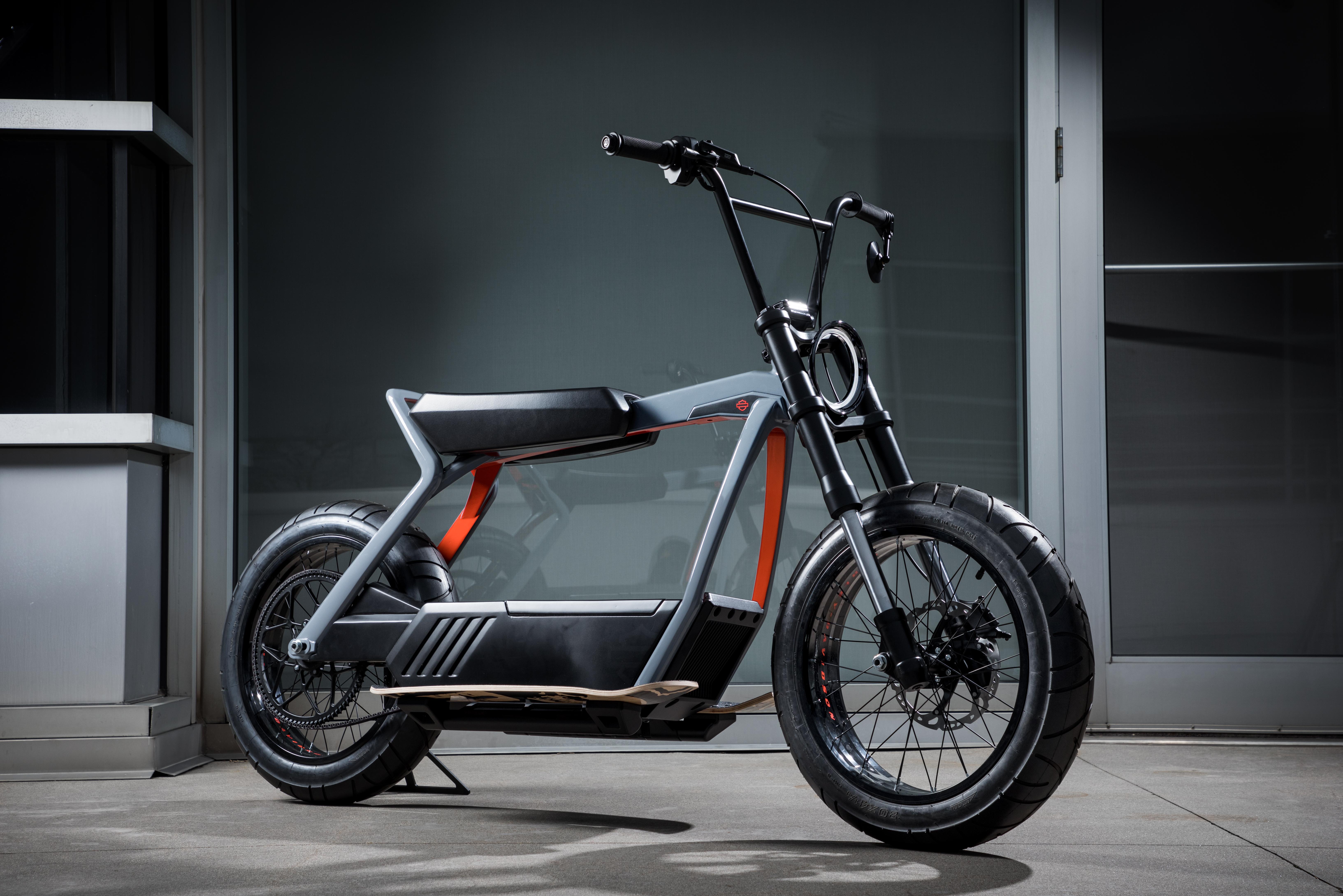 Harley-Davidson lên kế hoạch chế tạo xe tay ga điện!