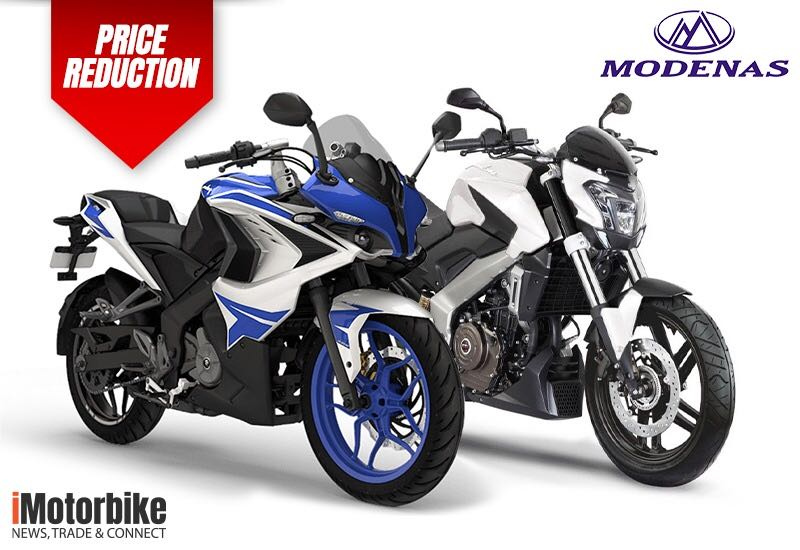 Modenas Pulsar RS200 and Dominar D400 Official Price Reduction