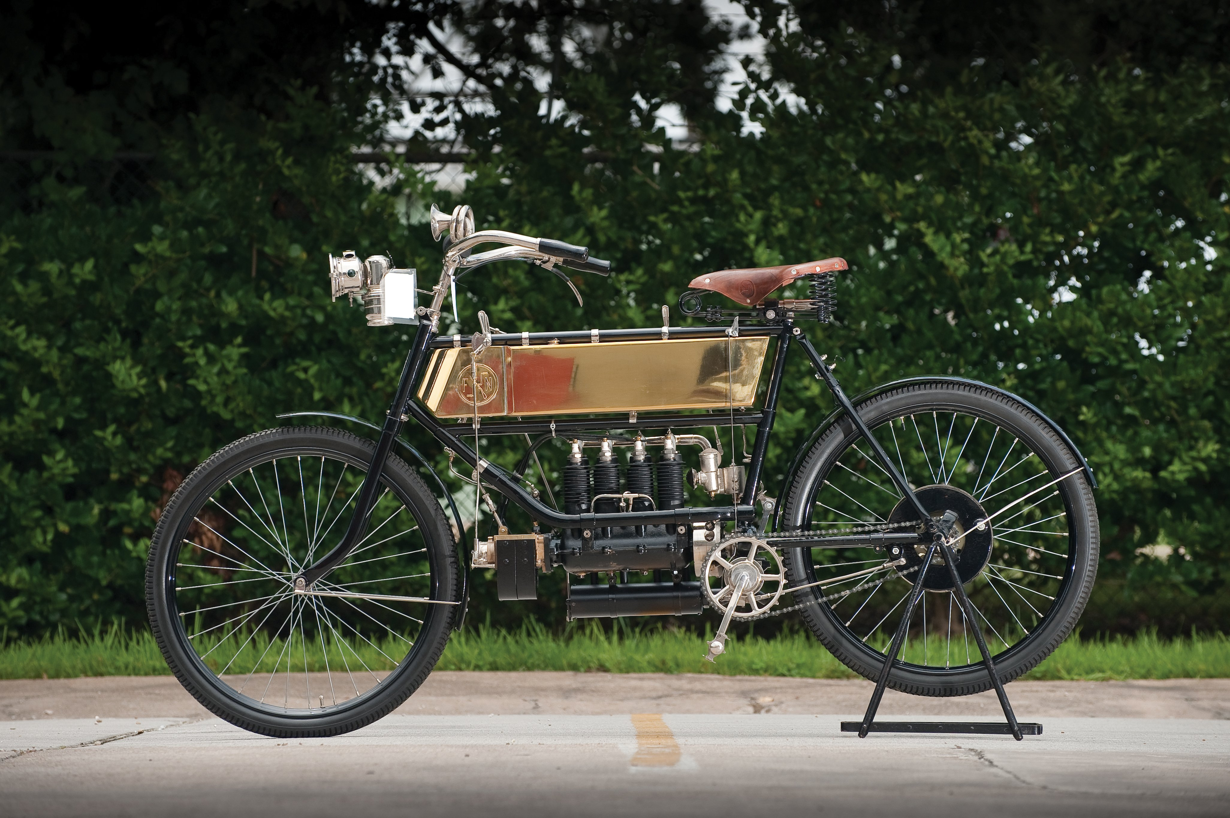 1905 FN Four: World's First Production Inline-4 Motorcycle