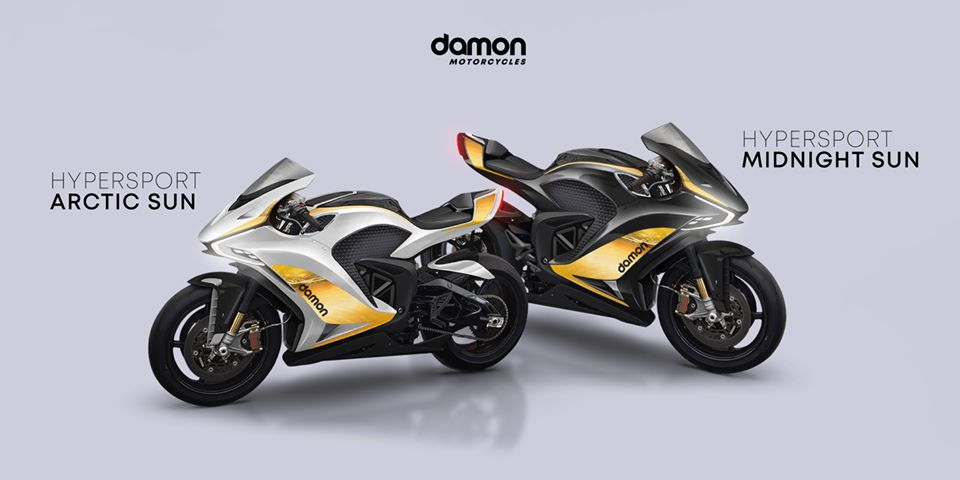Damon Motorcycles Launches Two New Hypersport Premier Models