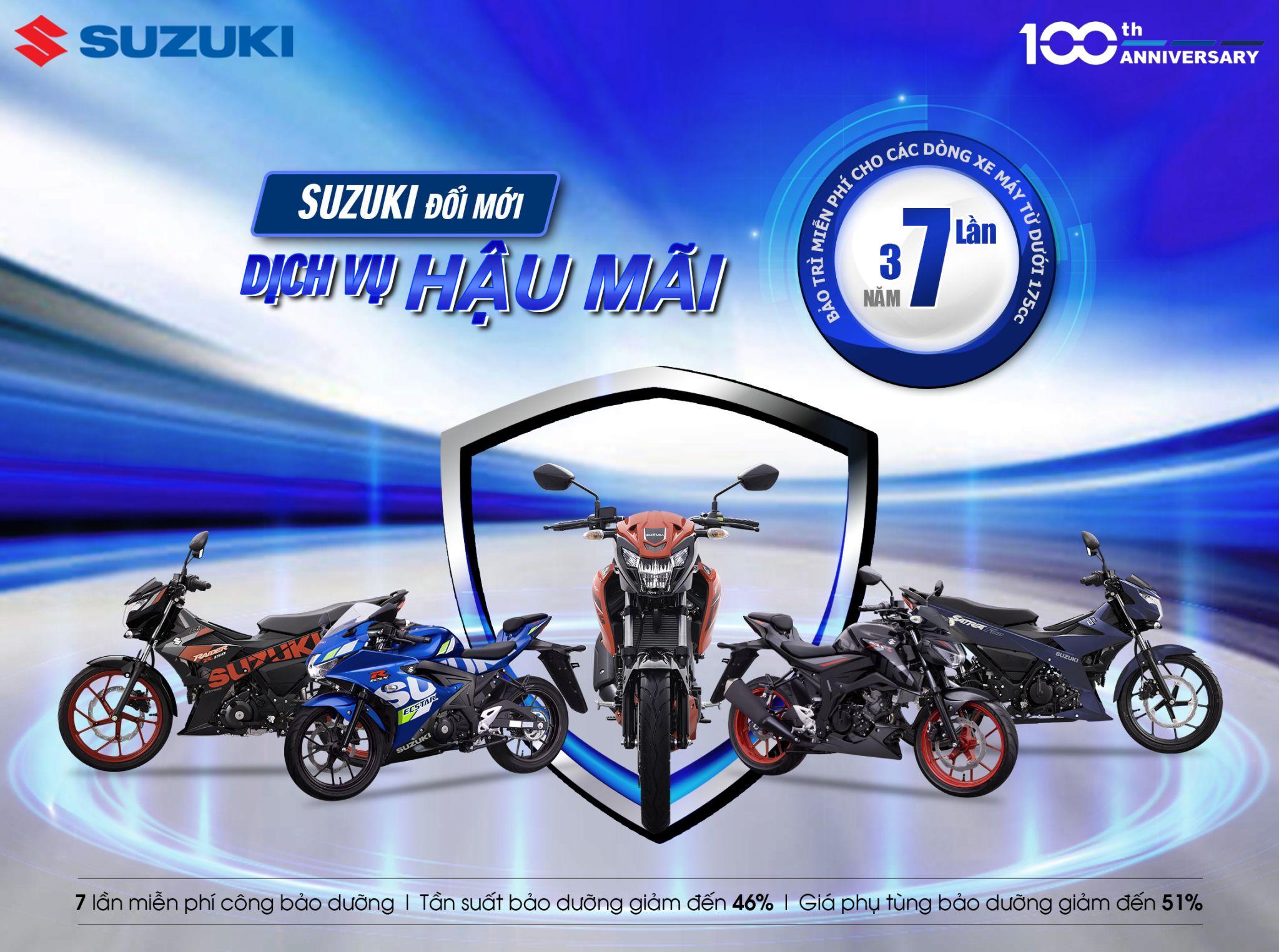 Ngoài Satria F150, Suzuki sẽ nhập chính hãng nhiều mẫu xe khác về Việt Nam?