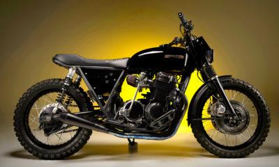 1976 Honda CB750 'M6' by MONNOM Customs