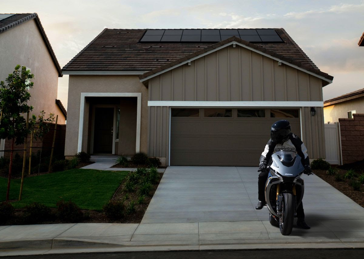 Damon Motorcycles Hypersport V2H