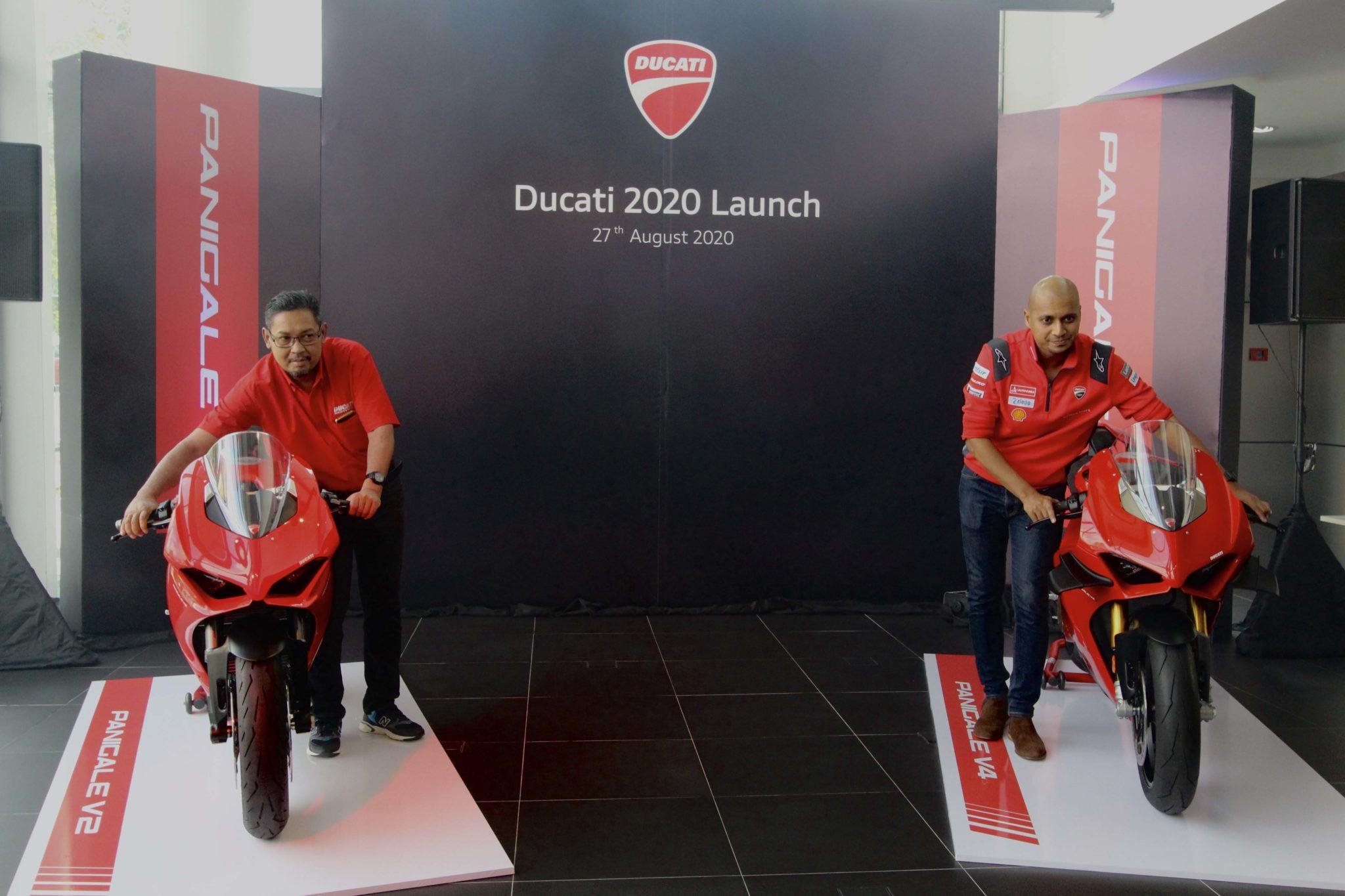 Ducati Panigale V4, V4s, Panigale V2 & Scrambler Icon Dark Launched in Malaysia