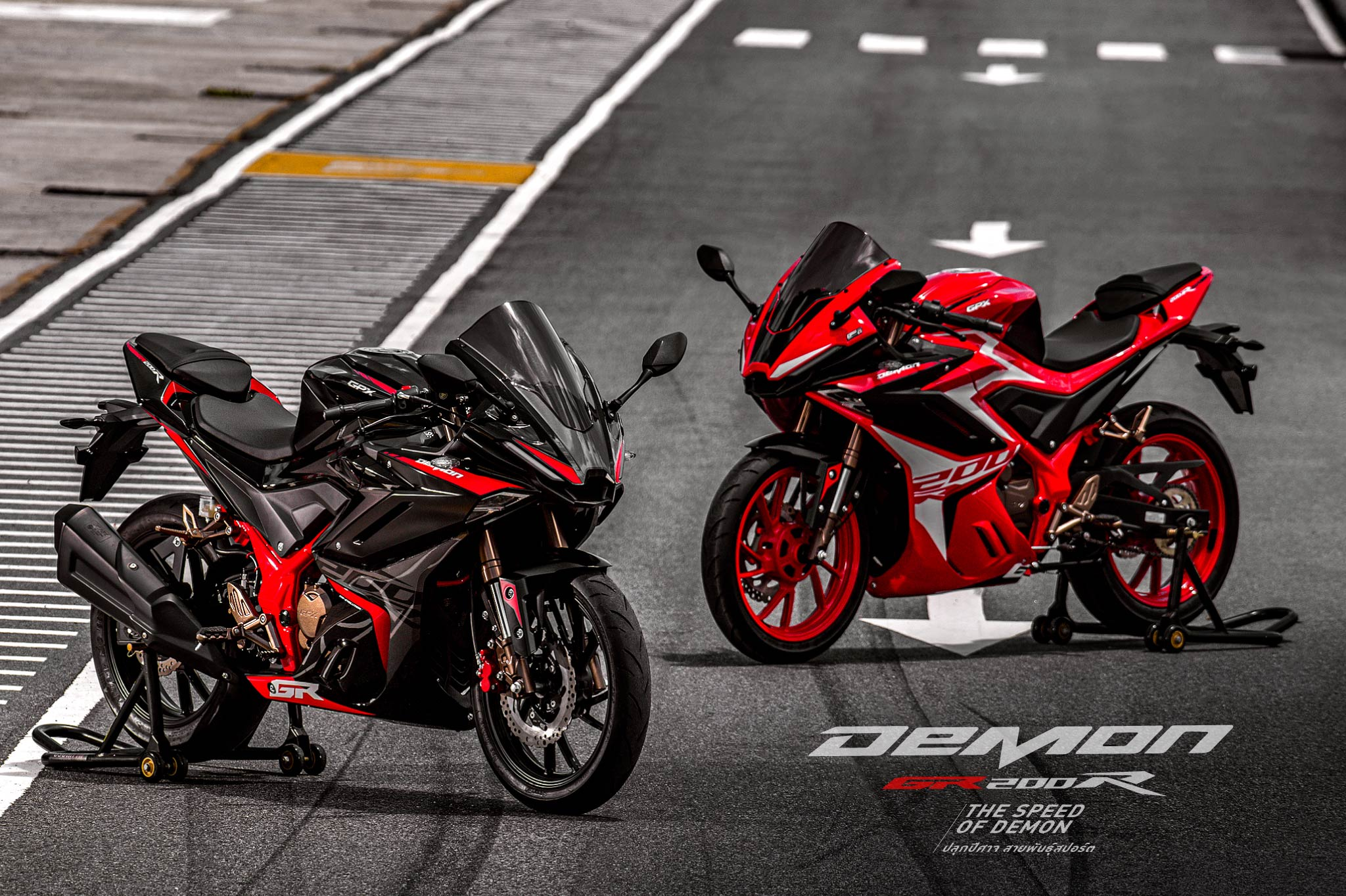 GPX Demon GR200R & Legend 250 Twin are launching in Malaysia soon