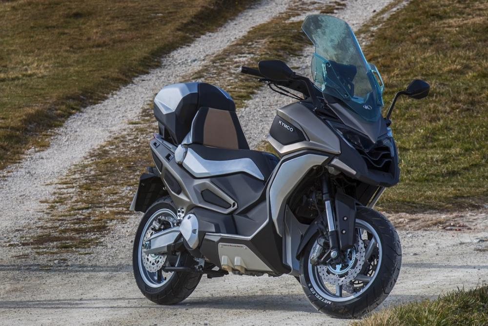 Is KYMCO launching a dual-sport scooter this month?
