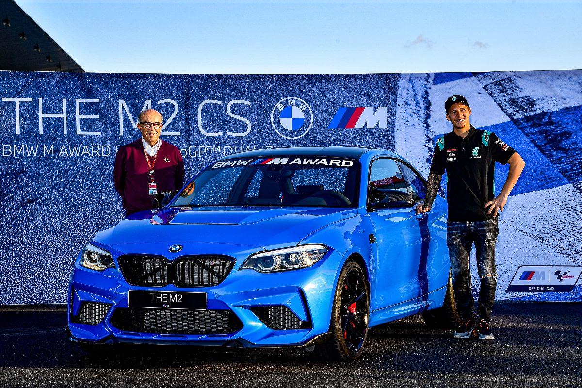 Fabio Quartararo wins BMW M Award for the first time