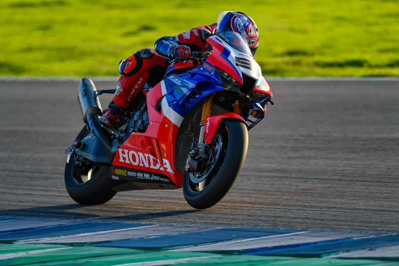 Spotlight on HRC WorldSBK duo during Global Motorsport Announcement