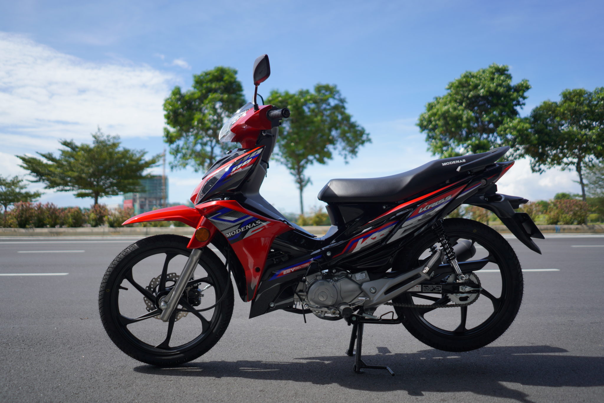 Modenas Kriss 110 Disc Brake Variant Launched in Malaysia - RM 3,877