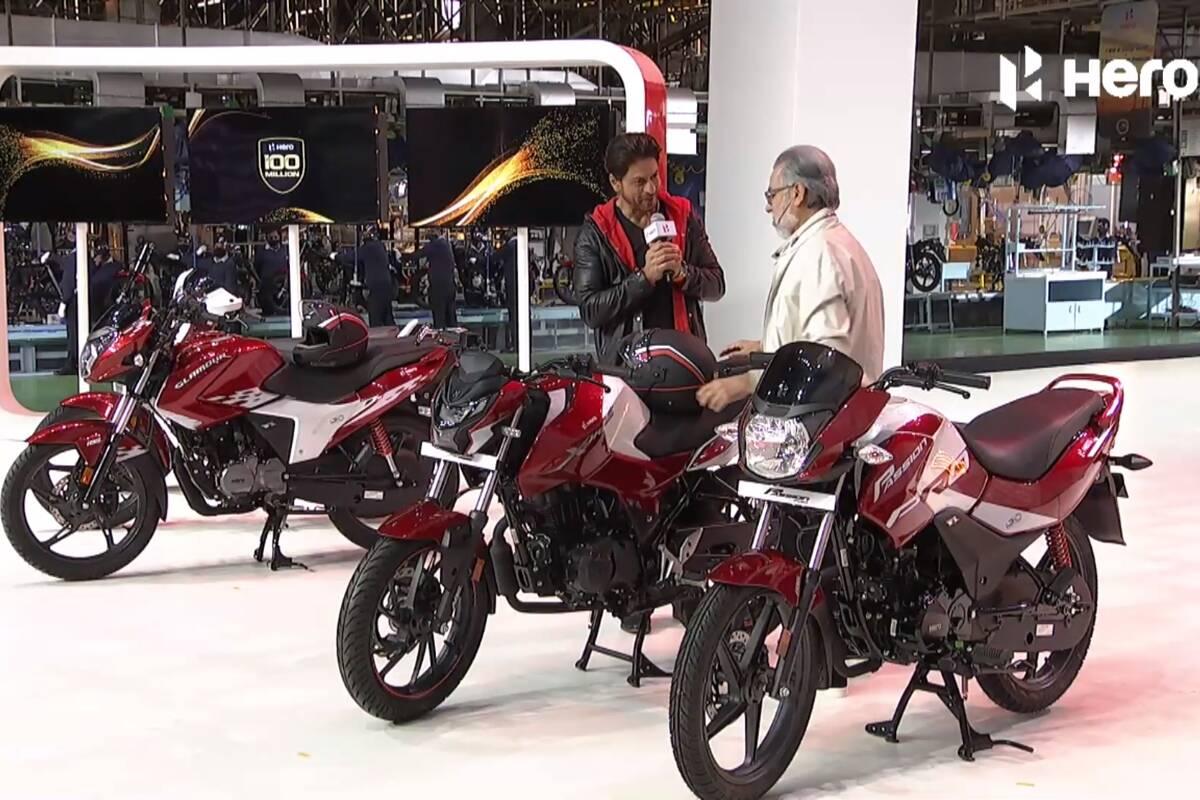Hero MotoCorp Surpasses 100 Million Cumulative Production Milestone